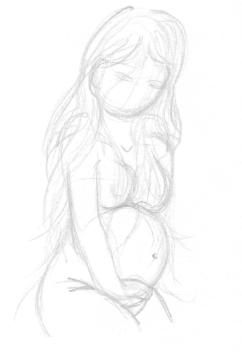 Elle a fait un bébé toute seule...