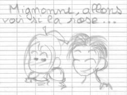 Mignonne...